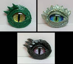 Dragon Eye Pendants by TinyAna