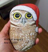 Owl Rock by TinyAna