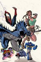 Comic Characters by RyanOdagawa