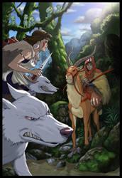 Princess Mononoke by RyanOdagawa