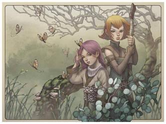 Shadowzone Giclee Print by RyanOdagawa