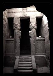 Shrine to Hathor by Jaydehawk