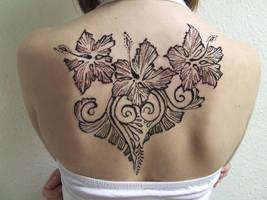 Anna's henna tattoo by martucia