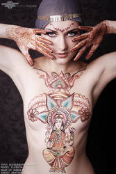 Lakshmi guidance by martucia