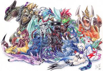 Original Digimon by Sysirauta