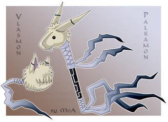 Vlasmon and Palkamon by Sysirauta