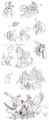 Pokemon madness... by Sysirauta