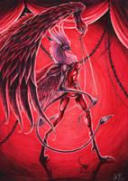 Red Scorpion by Sysirauta