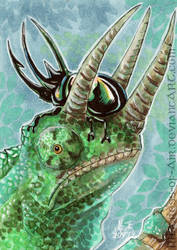 ACEO Horns by Sysirauta