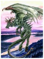 Finnish Dragon by Sysirauta