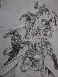 Emissary's of justice by Sambhavsankhla by Mega-Gear