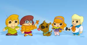 Scooby Doo Gang by MarkSheard