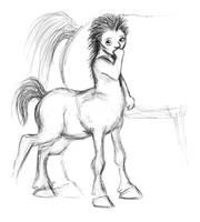 Little centaur child by Batri