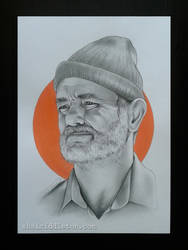 Bill Murray by xhaimiddleton