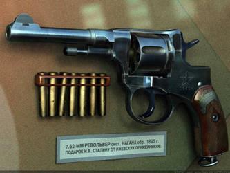 Joseph STALIN's own revolver by VladiT