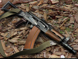 Kalashnikov AKS-74-U by VladiT