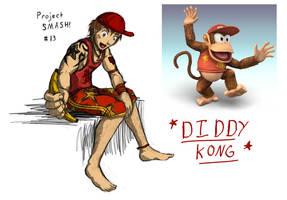 Project SMASH - Diddy Kong by Krowjak