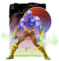 Zen the Intergalactic Ninja by Nezart