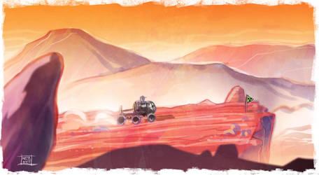 The Martian by Nezart