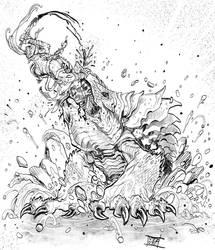 Death of Boruk by Nezart