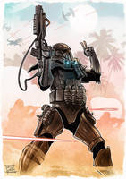 Deathtrooper colored by Nezart