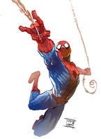 Spiderman by Nezart