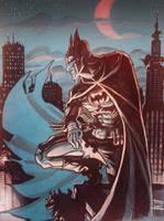 The Dark knight by Nezart