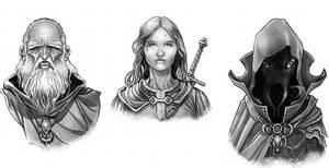 Fantasy Portraits by Nezart