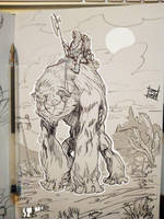 Gorilla mount by Nezart
