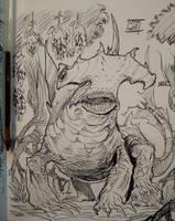 Hammerhead bulette by Nezart