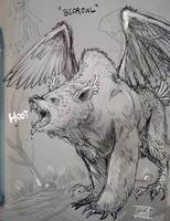 Bearowl by Nezart
