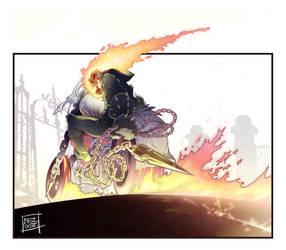 Ghost Rider... by Nezart