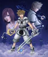 Kingdom Hearts II by Angel-Dark