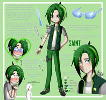 Saint [Oc Reference] by Zoe-975