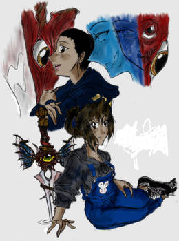 Wielders Of The Soul Swords II by Spriggangirl