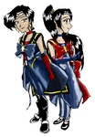 BTLC - Sailor Thunder And Sailor Rain - Alternate by Spriggangirl