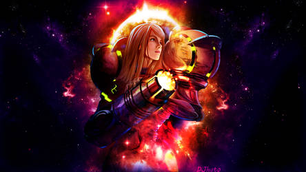 Saint Samus by g4r44