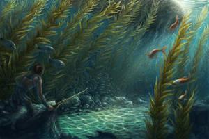 Underwater by SaraLynArt
