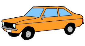 1977 Ford Escort (Europe) by James4455
