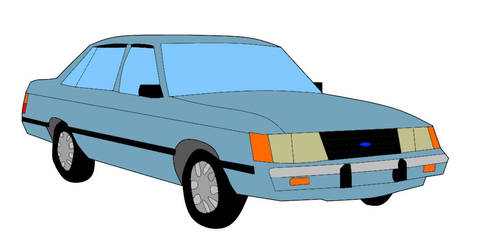 Ford LTD by James4455