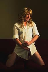 Ebony White Shirt by Tiberius47