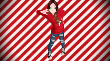 [MMD] Holiday Sweetheart (HHS) by piegirl333