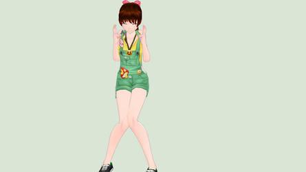 [MMD] Freshman Sweetheart (HSS) by piegirl333