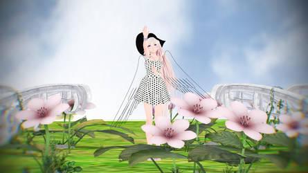 [MMD VIDEO] Hana No Saku Basho (Angel IA) by piegirl333