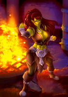 Suntiger Orc by Lunareth
