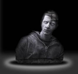 Stone Portrait by burningtimes