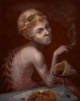 Sick Bacchus by Whiteparasite