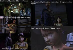 The Walking Dead the Game: Lee's feeling by Neko-Herrington