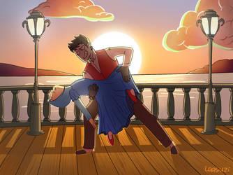 Tango Dance by Laasuzi