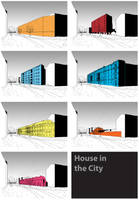 House in the city by Ecthelion-2